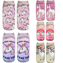 Load image into Gallery viewer, Unicorn Socks