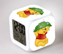 Load image into Gallery viewer, Cute Winnie the Pooh LED Alarm Clock