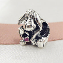 Load image into Gallery viewer, Winnie & Friends Sterling Silver Bead Charm Pendant