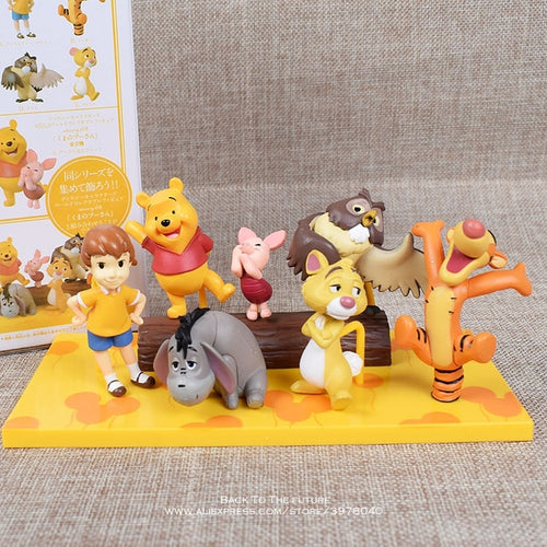 Disney Winnie the Pooh & Friends Toy Models