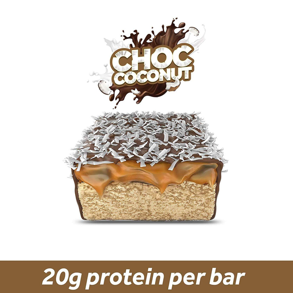 Choc Coconut - 12 bars