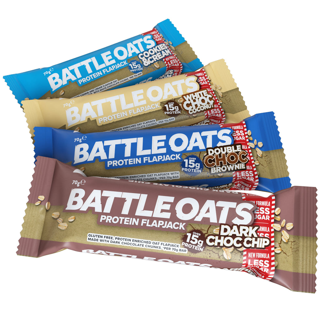 Battle Oats Variety Pack - 12 bars