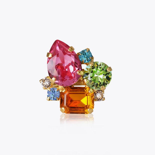 Caroline Svedbom - Angelina Ring Crystal Gold