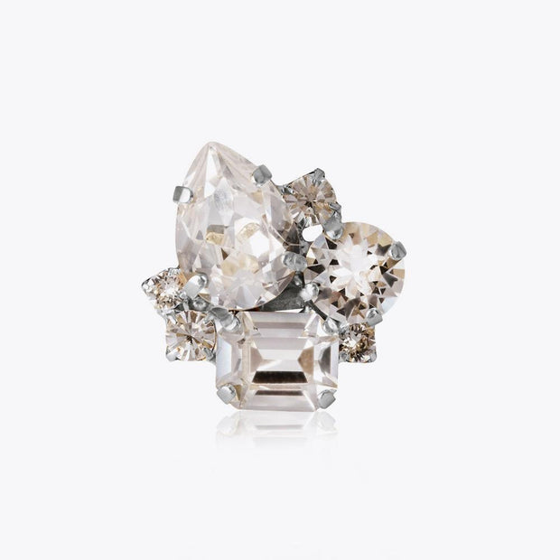 Caroline Svedbom - Angelina Ring Crystal Rhodium