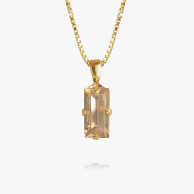 Caroline Svedbom - Baguette Necklace Golden Shadow Gold