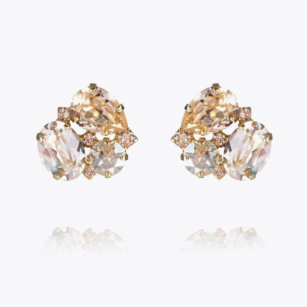 Caroline Svedbom - Carolina Earrings Silk Combo Guld