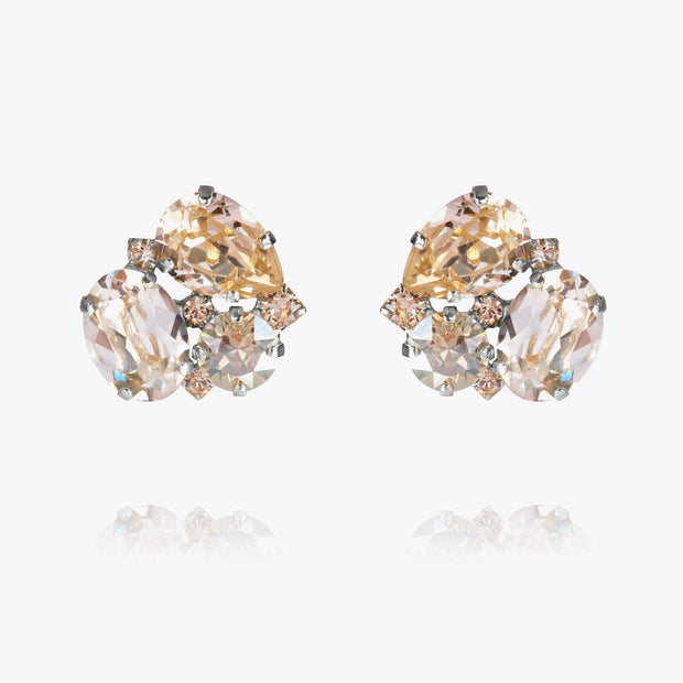 Caroline Svedbom - Carolina Earrings Silk Combo Rhodium
