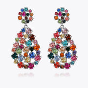 Caroline Svedbom - Hanna Earrings Rainbow Combo Rhodium
