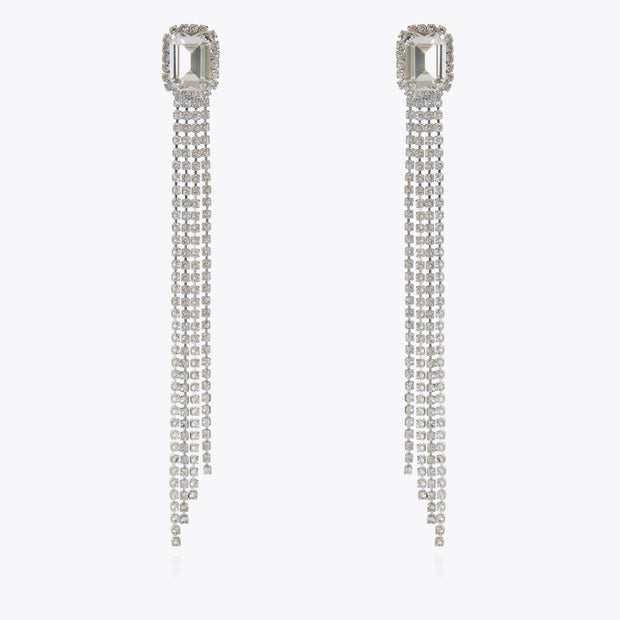Caroline Svedbom - Ivy Earrings Crystal Rhodium