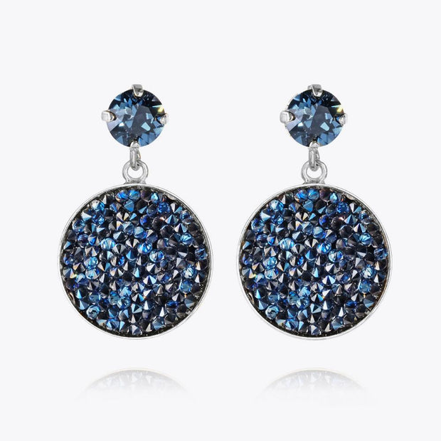 Caroline Svedbom - Chloe Earrings Montana Rhodium
