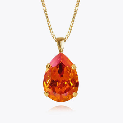 Caroline Svedbom - Classic Drop Necklace Astral Pink Gold