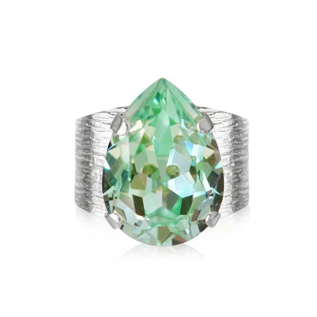 Classic Drop Ring / Chrysolite