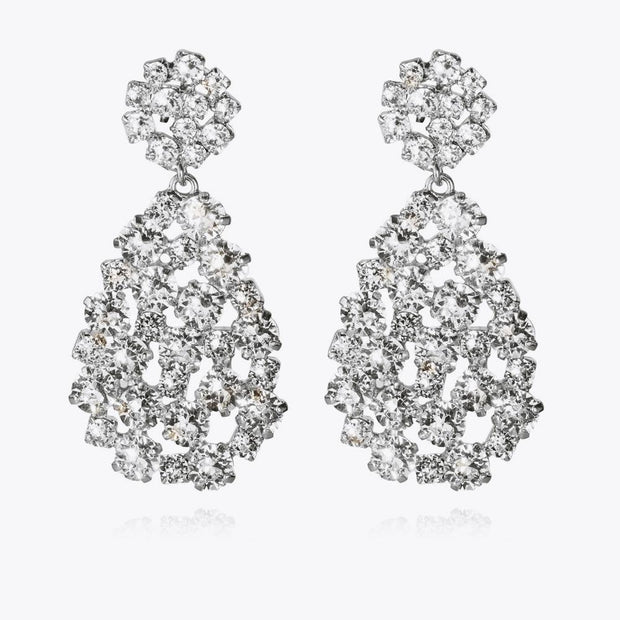 Caroline Svedbom - Hanna Earrings Crystal Rhodium