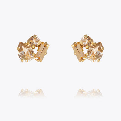 Caroline Svedbom - Isa Earring Light Peach Combo Gold