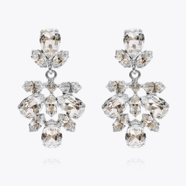 Isabel Earrings / Crystal