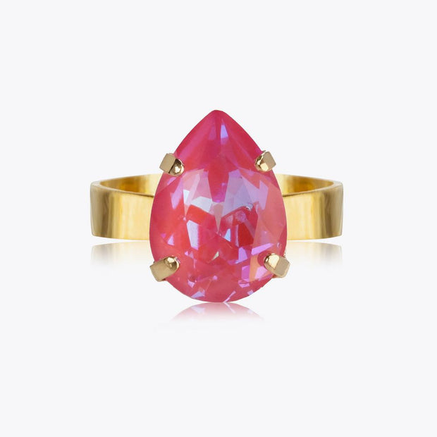 Caroline Svedbom - Mini Drop Ring Lotus Pink Delite Gold
