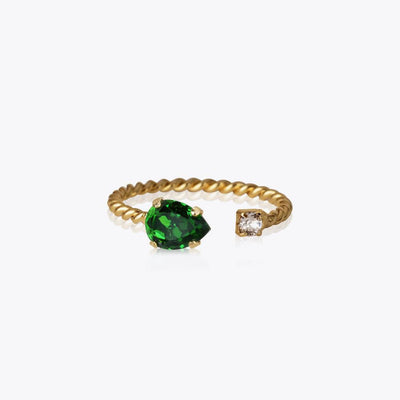 Caroline Svedbom - Nani Ring Fern Green Gold