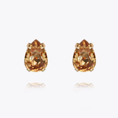 Caroline Svedbom - Petite Drop Earrings Light Colorado Topaz Gold