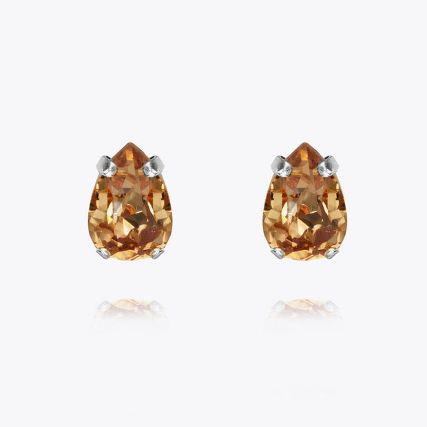 Caroline Svedbom - Petite Drop Earrings Light Colorado Topaz Rhodium