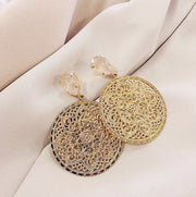Alexandra Earrings / Ivory Cream