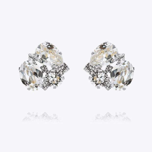 Caroline Svedbom - Carolina Earrings Crystal Rhodium