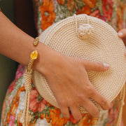 Classic Rope Bracelet / Buttercup