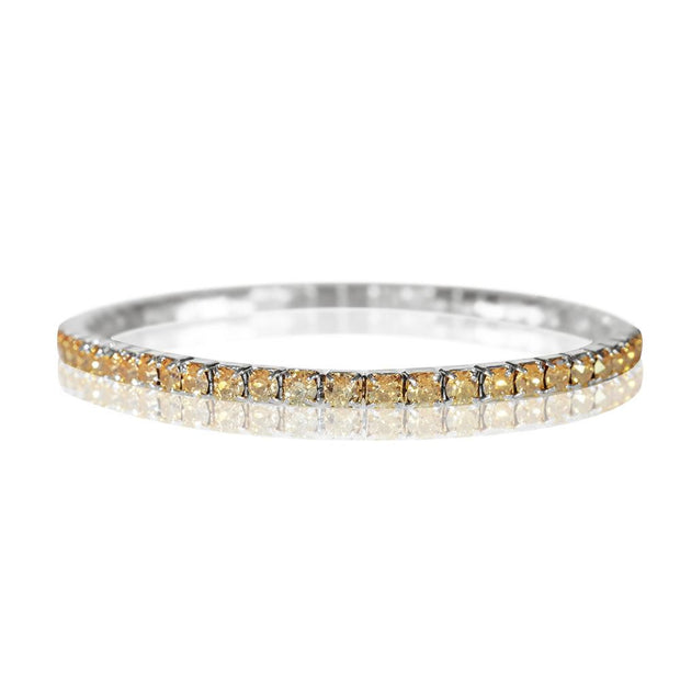 Eya Stretch Bracelet / Golden Shadow