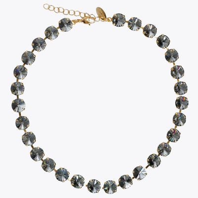 Caroline Svedbom - Jackie Necklace Black Diamond Rhodium