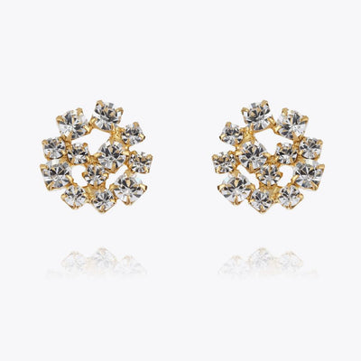 Caroline Svedbom - Kassandra Earrings Crystal Guld