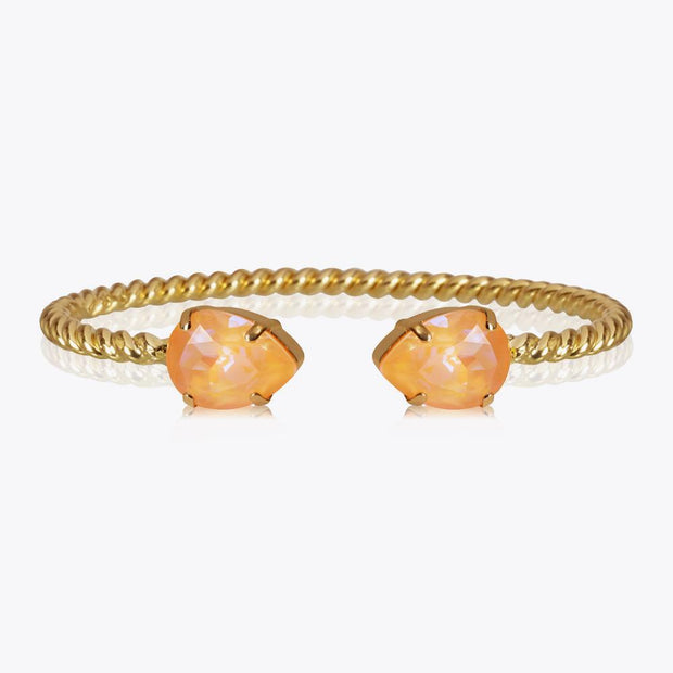Caroline Svedbom -Mini Drop Bracelet Peach Delite Gold