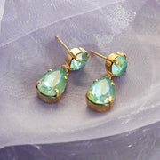 Mini Drop Earring / Silky Sage Delite