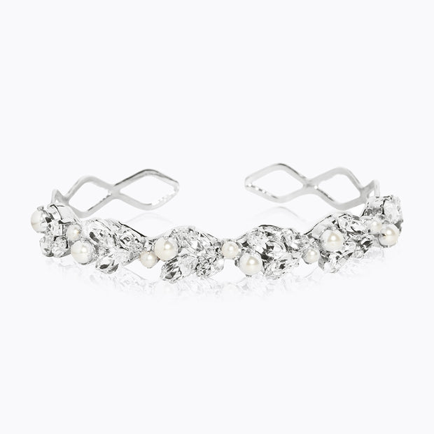 Caroline Svedbom - so In Love Bracelet Crystal Rhodium