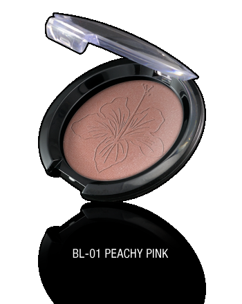 Pearl Powder Blush-BL-01 Peachy Pink