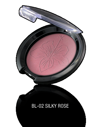 Pearl Powder Blush-BL-02 Silky Rose