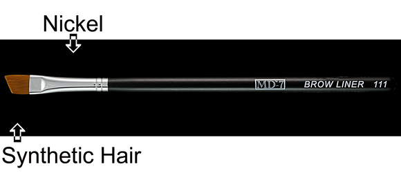W111 - Eye brow Liner brush - Synthetic Hair (50% Off)