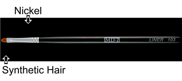 W103 - Eye Liner Brush - Synthetic Hair