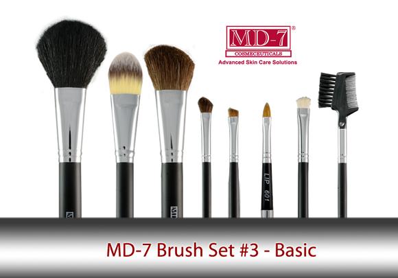 Basic Makeup Brush Set #3 ) (BS3)