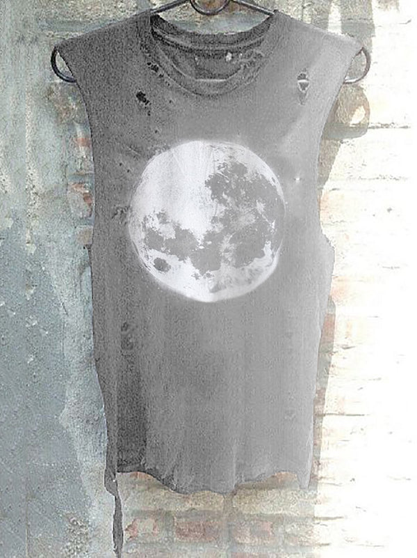 Full Moon Ripped Tees