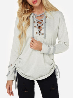 Casual Long Sleeve Tops