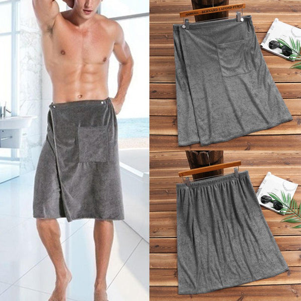 Mens Absorbent Swim Beach Towel Soft Comfortable Bathtu(Buy 3 Get FREE SHIPPING)