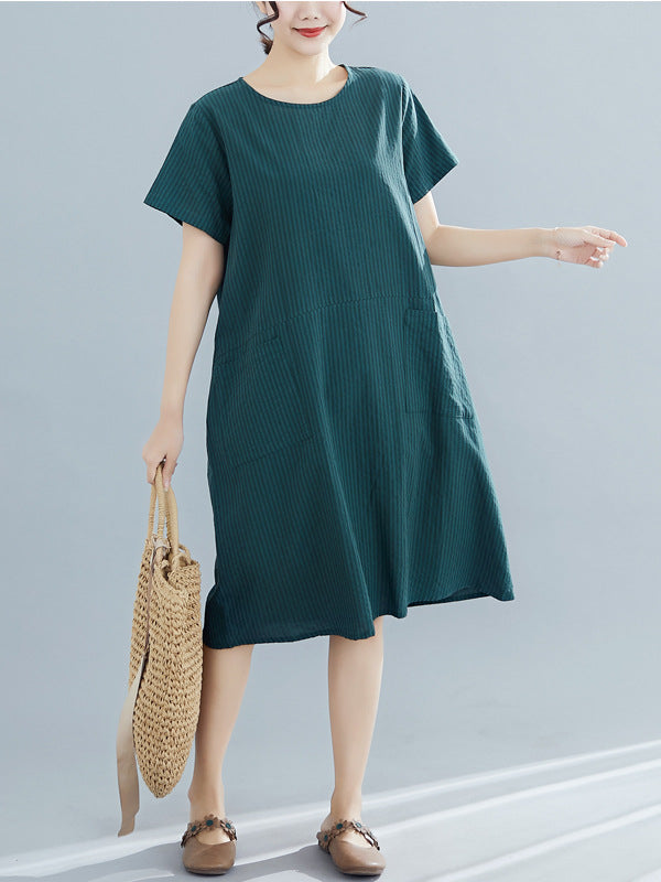 Women Solid Casual Dresses