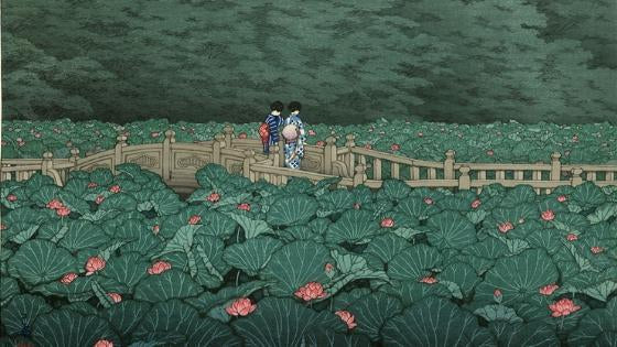 In Pursuit of Beauty: An Introduction to the new Hasui Collection-Rising Sun Prints Blog