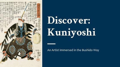 Discover: Kuniyoshi - The Artist Who Lived the Bushido Way-Rising Sun Prints Blog