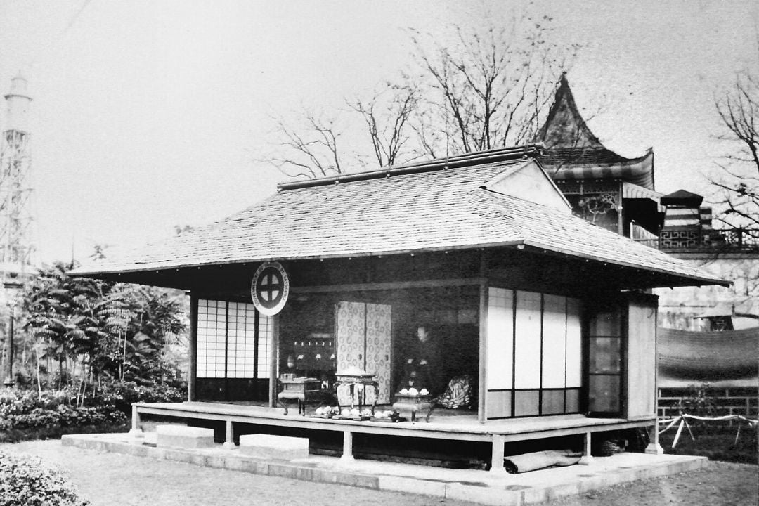 Japanese Satsuma Pavillion at the International Exhibition of 1867, Paris