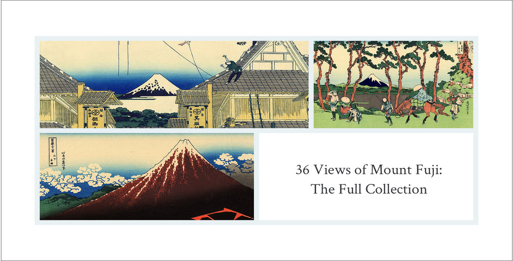 36 Views of Mount Fuji Collection