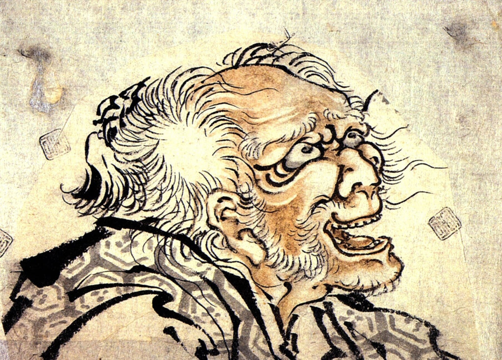 Hokusai - Old Man, Crazy to Paint
