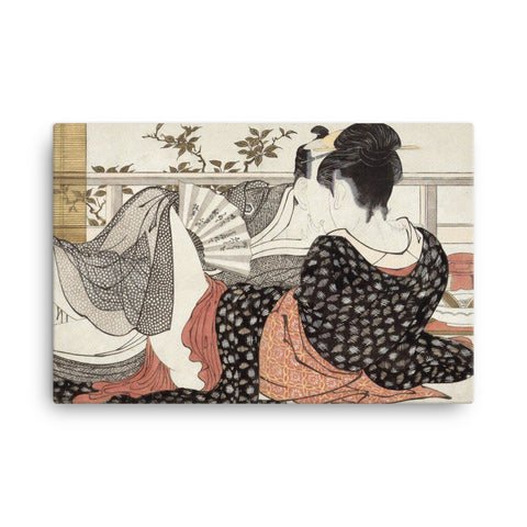 """Poem of the Pillow"" - Utamaro, 1788"
