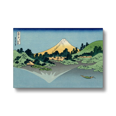 Mount Fuji Reflects In Lake Kawaguchi (1830) Canvas