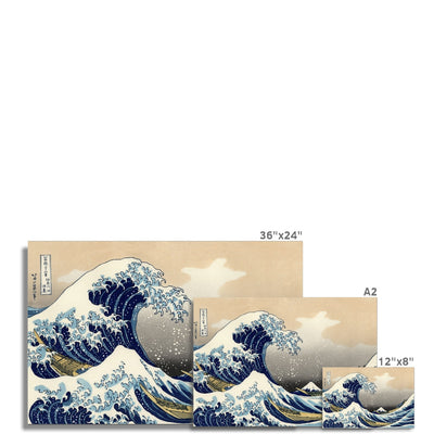 The Great Wave Off Kanagawa (1830) - Fine Art Print