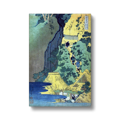 Kiyotaki Kannon Waterfall at Sakanoshita on the Tōkaidō - Canvas